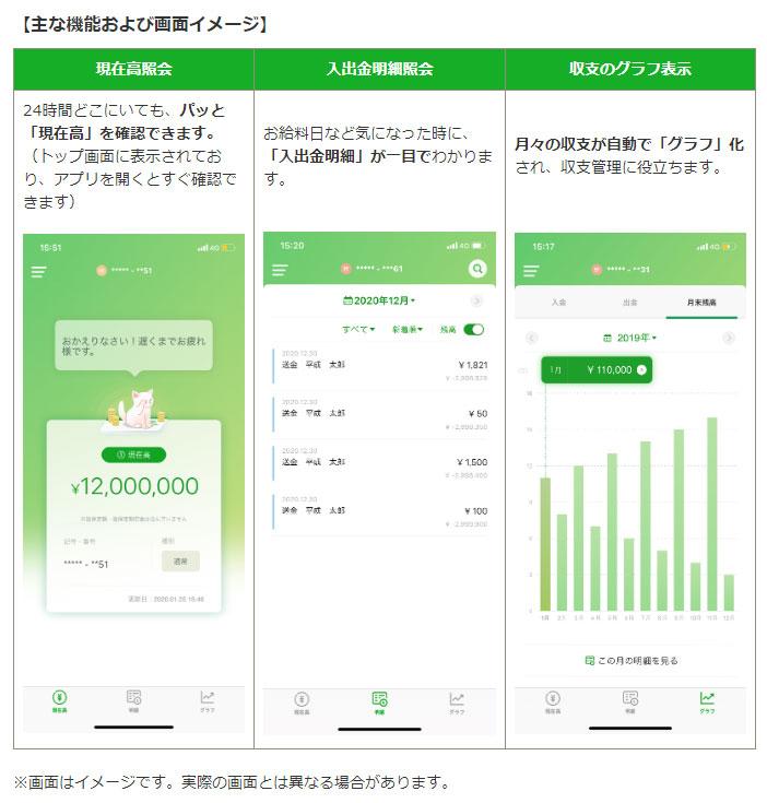 残高 アプリ 銀行 ゆうちょ 確認