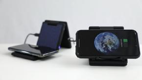 ラソブルーミングのワイヤレス充電器「ORIPA」