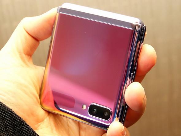 Galaxy Z Flip SCV47(閉じた様子)