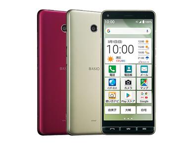 UQ mobileの「BASIO4」