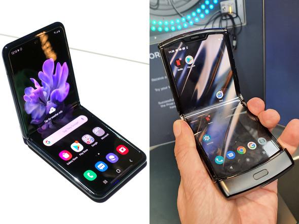 Galaxy Z Flipとrazr