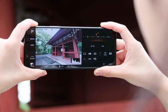 Photography Proを使えばカメラらしいカメラに変身するXperia 1 II