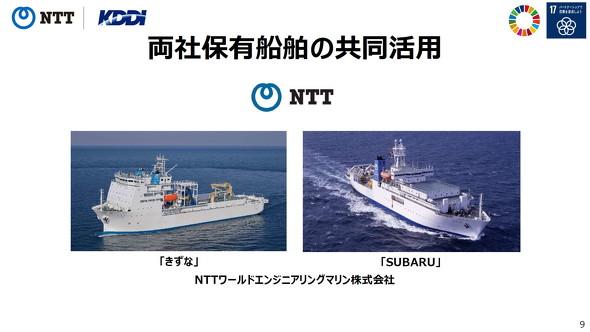 NTTの船