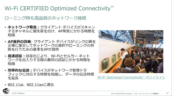Wi-Fi Optimized Connectivity
