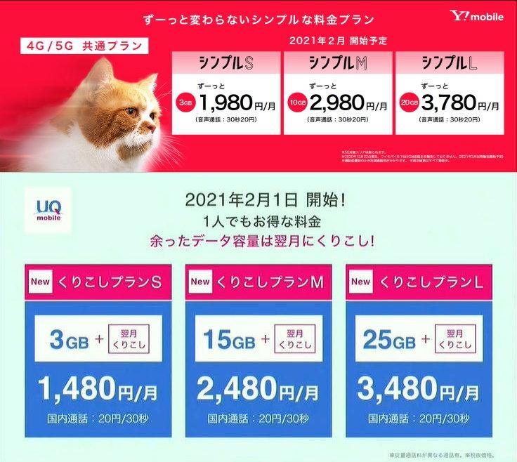 Y!mobileとUQ mobileの新プランは何が違う?/ミドルレンジスマホのカメラを比べてみよう!
