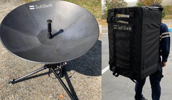 衛星による復旧