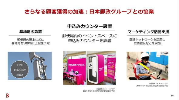 日本郵政との資本業務提携