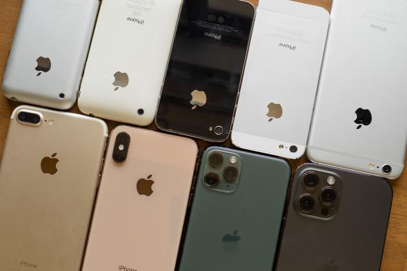 歴代iPhone撮り比べ