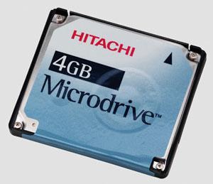 HGST製マイクロドライブ