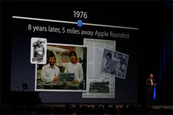Apple Computerは1976年設立