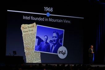 Intelは1968年設立