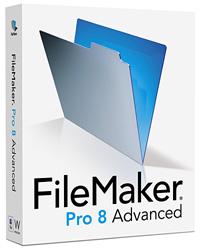 「FileMaker Pro 8 Advanced」