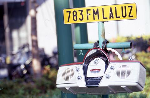 78.3MHzで放送したfmラルース