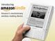 Amazon、ワイヤレス機能つき電子書籍リーダー「Kindle」発売
