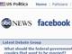 ABC News、Facebookと大統領選向けアプリで提携