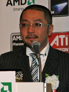 日本AMD 土居憲太郎氏