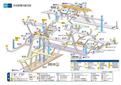 ねとらぼ:「渋谷駅がダンジョンのようだ」と話題に - ITmedia NEWS