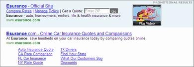 ensurance ads