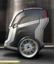 GMとSegway、小型の2輪電気自動車を披露