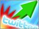 Twitterが爆発的成長、ビジターが700%増加