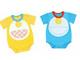 赤ちゃんが「ドラえもん」「仮面ライダー」に バンダイから「コスプレロンパース」
