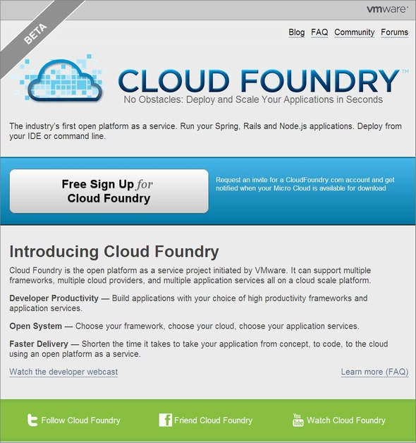 cloudfoundry 2