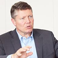 米IBMでミッドマーケット事業を統括するアンドリュー・モンショウ氏。2009年から2010年半ばまで日本IBMの副社長を務めていた親日家だ