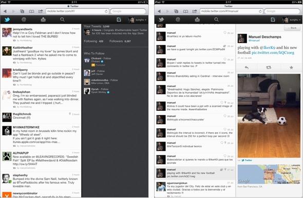 tablet twitter