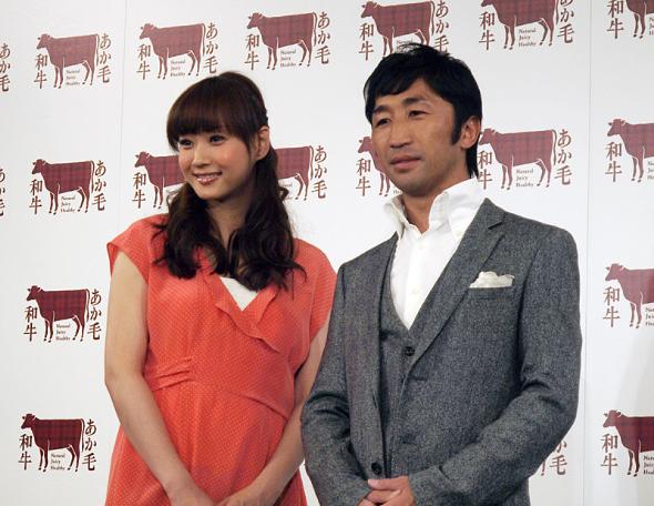 藤本美貴さんと内藤大助さん
