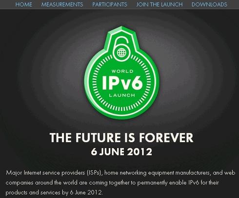 ipv6 page