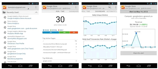 analytics for Android