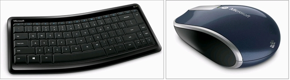 Sculpt Mobile Keyboard(左)とSculpt Touch Mouse