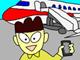 """IT4コマ漫画:iPhoneを海外で使う時の""""落とし穴"""""""