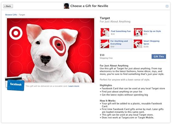 Facebook facebook giftgift card negle Choice Image