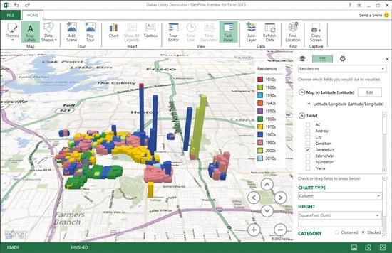 Microsoft Excelでインタラクティブな3d地図上グラフを作れるアドイン Geoflow を発表 Itmedia News