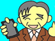 IT4コマ漫画:スマホのアンテナ、どう使う?