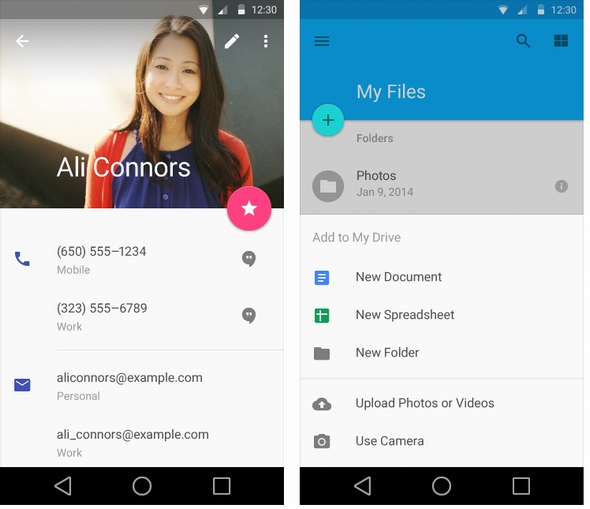 Android�[���ł�Material Design���