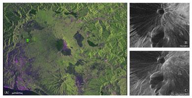 「だいち2号」初の観測画像公開 伊豆大島や富士山鮮明に