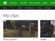 Xbox Oneのプロフィールページに録画クリップ表示コーナー