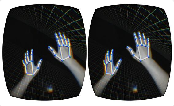 Oculus Riftの映像に自分の手の動きを重ねられるシステムをLeap Motionが発売