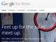 Googleのビジネス部門が「Google for Work」に改称