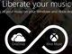 Microsoft、OneDrive上の音楽再生サービスを「Xbox Music」で開始