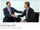 Ciscoの新CEOにチャック・ロビンス氏、チェンバーズ氏は会長に