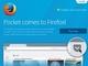 """Firefox、""""あとで読む""""のPocket統合とHelloのタブ共有機能追加のマイナー更新"""