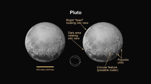 冥王星はすぐそこに 探査機「ニュー・ホライズンズ」から最新の写真
