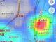 今どれくらい混んでる? が一目で分かる「混雑レーダー」 「Yahoo!地図」新機能