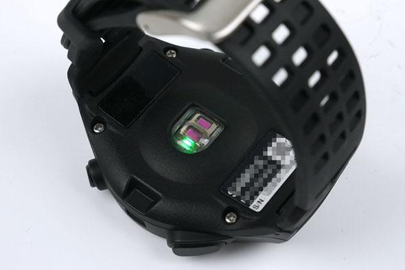 PS-600の脈拍センサー