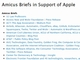 Apple、対FBI問題での支持団体リストを公開・更新中 Intel、Twitter、EFF他