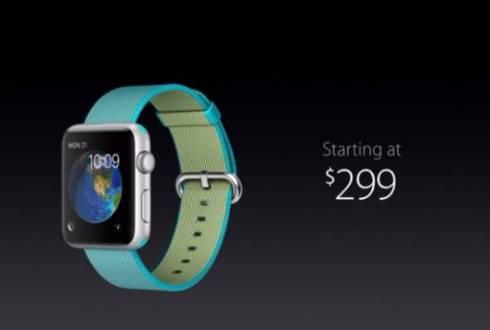 Apple Watchは299ドルに値下げ ナイロンバンド、新色バンドも