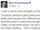 FacebookのザッカーバーグCEO、「Trending Topic」の徹底調査を約束